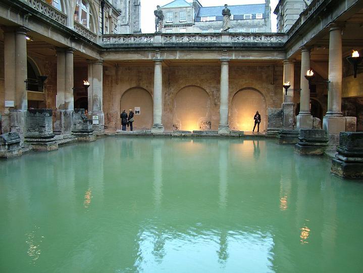 Baños Romanos En Bath:Termas Romanas